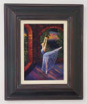 framed ballet painting