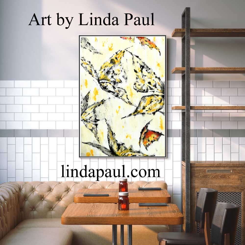 Wall art for restaurants and hotels original artwork