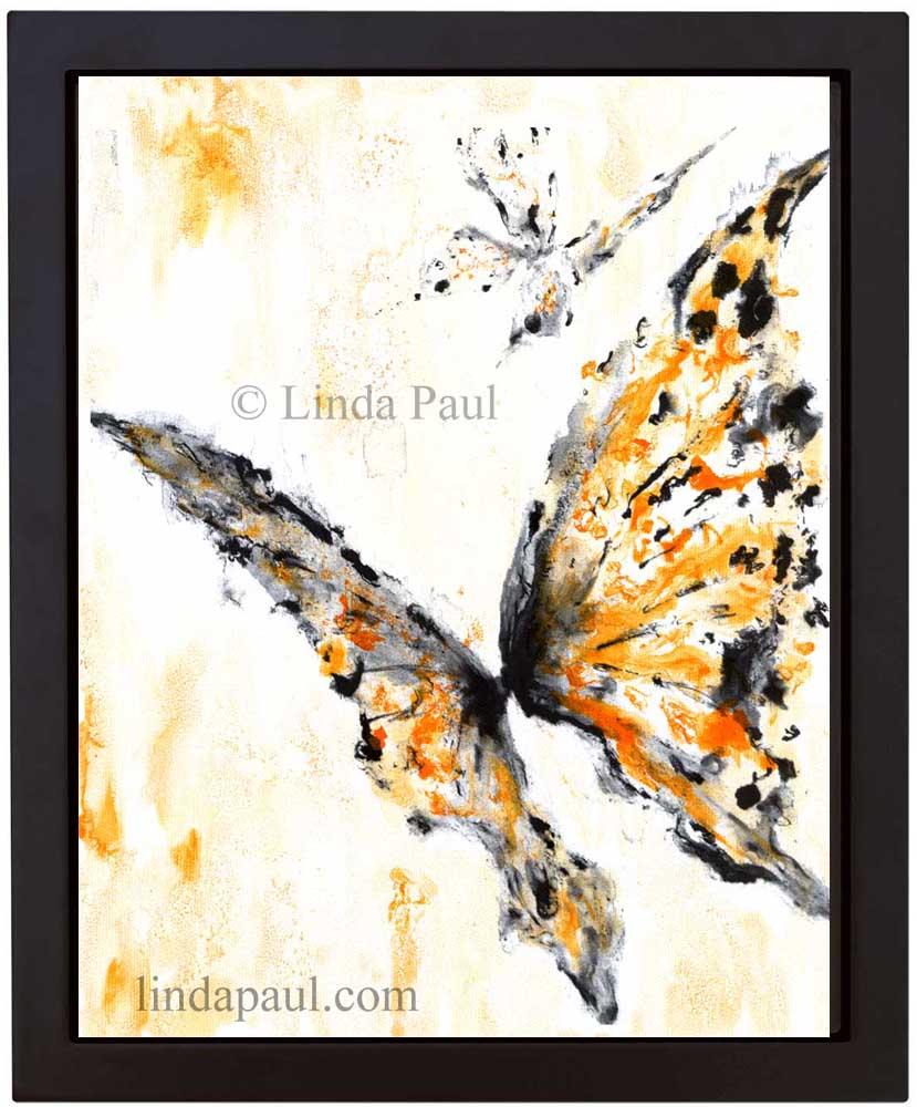 Butterfly Wall Art on Canvas - Butterflies