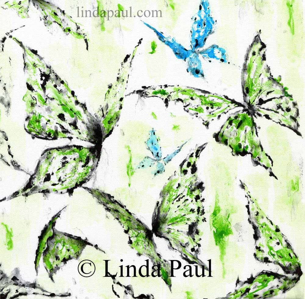 Butterfly Wall Art Canvas- Custom Color to match Decor