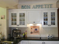 country french splash back mural