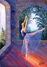 ballet dancer art