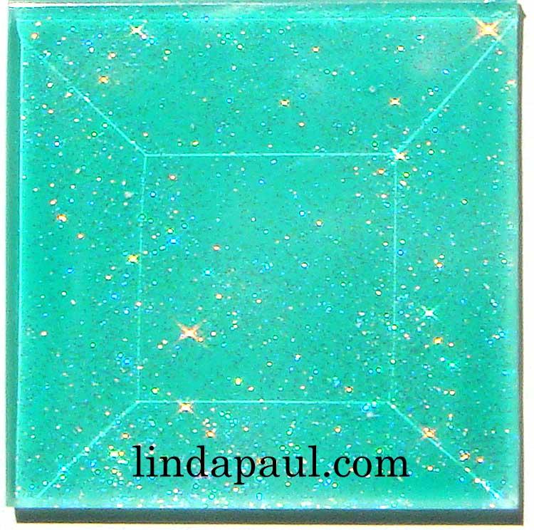 Sea Glass Tile green blue white glass fish tiles