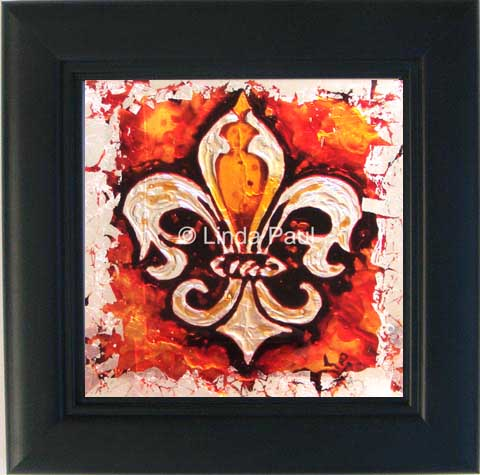 fleur de lis art home wall decor
