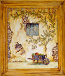 frame french country art painting