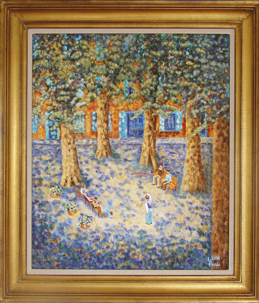 French Landscape Paintings - Impressionist Art Paintings of France