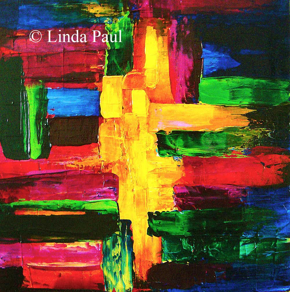 Abstract Art Paintings - Colorful contemporary original art