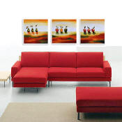 set of 3 contemporary paintings