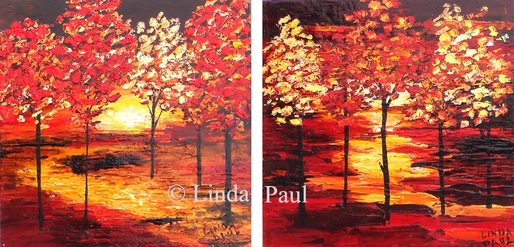 Landscape Paintings Of Trees Contemporary Tree Paintings