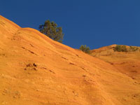 natural ocher mine
