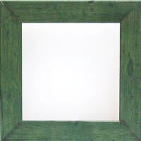 country green squre frames
