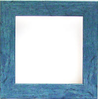 french country blue frame