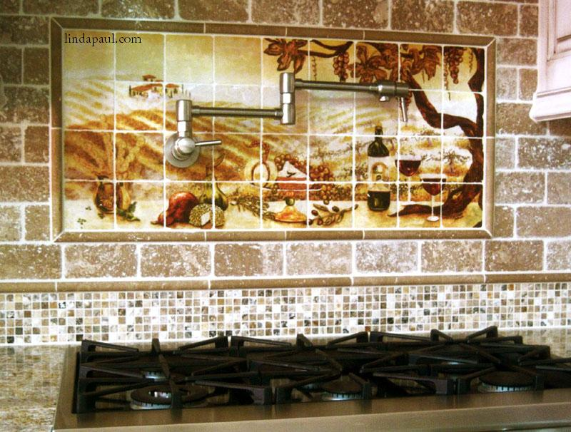 Creative kitchen tile backsplash ideas audreycouture - Creative tile kitchen backsplash ideas ...