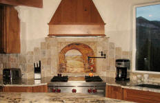 everything tuscany kitchen backsplash idea