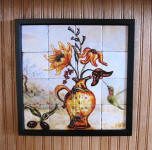 removable tile wall art