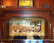 vineyard backsplash tile mural