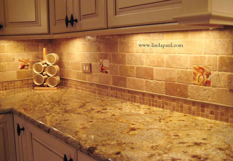 The vineyard tile murals tuscan wine tiles kitchen - Decorative tile for backsplash in kitchens ...