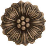 amanda funflower metal tile accent