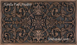 ravenna Plaque in Copper