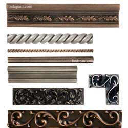 Metal Tile Trim Border Tiles Borders For Kitchen