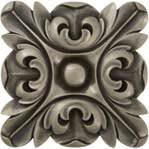 rachels flower metal tile accent