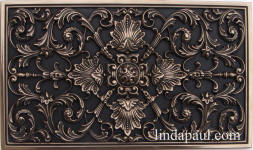 ravenna plaque bronze high polish