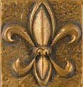 sample of brass high polish metal finsih