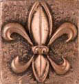sample of copper high polish