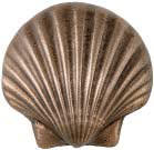 scallop sea shell metal accent tile