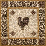 rooster backsplash tiles
