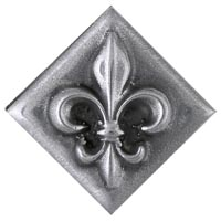 Fleur Baby Diamond 1 X 3 8 15 95 Shown In Stainless Steel High Polish