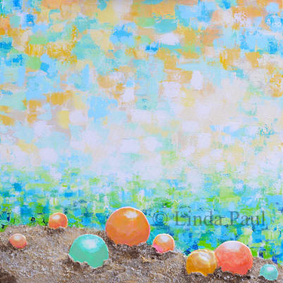 beach wall art on canvas