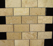 dark travertine 2x4 tile
