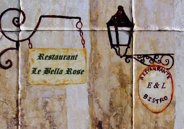 Restaurant Artwork - Mexican, Italian Restaurant Wall Decor