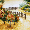 vineyard fence tile