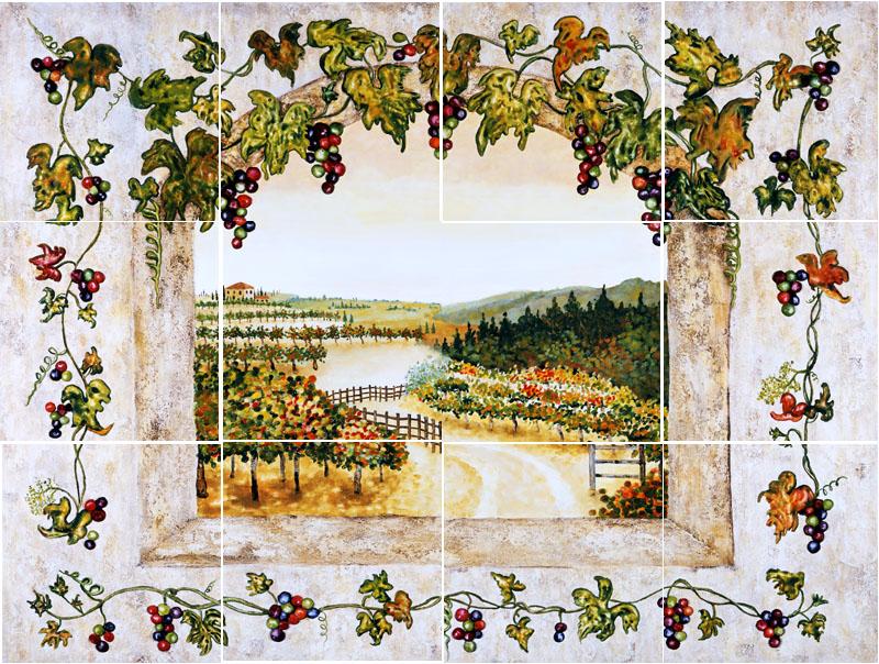 Vineyard Kitchen Decor