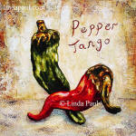 Pepper tango tile peppers green and red