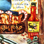 hot sauce and gumbo tile