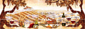 double version vineyard mural