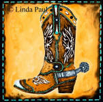 cowboy boot accent tile