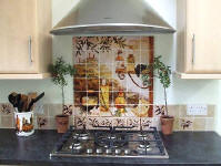 tuscant kitchen backsplash design