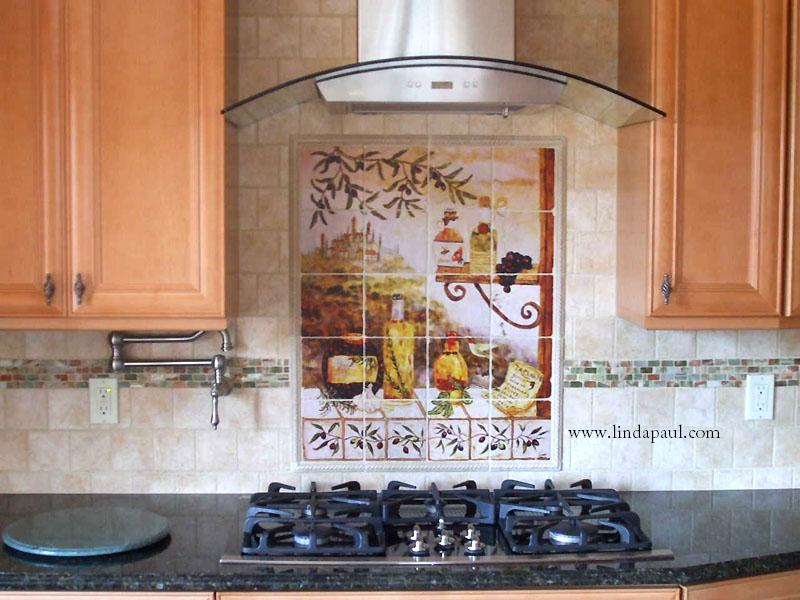 Ceramic Tile Mosaic Tile and Murals Inspiring Kitchen Backsplash