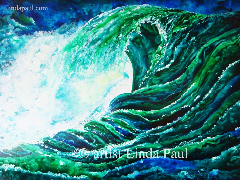 Ocean Waves Paintings For Sale
