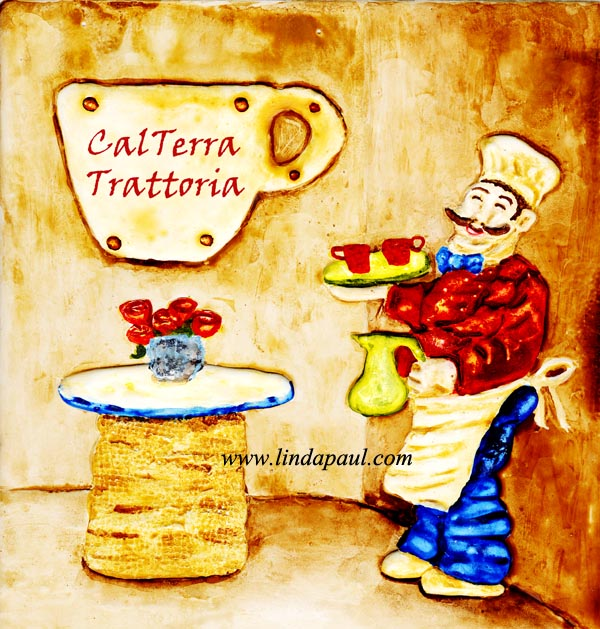 Wall Art for Restaurants and Hotels - Original Artwork and Tiles