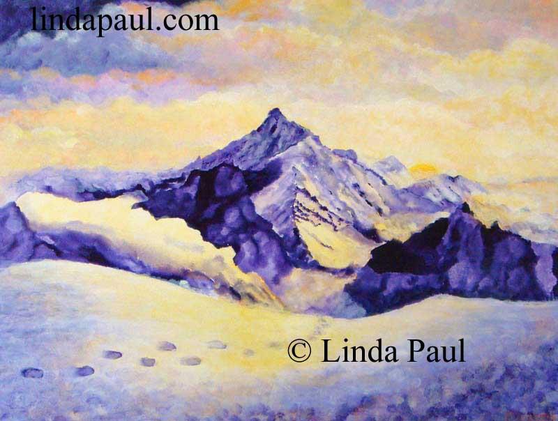 906218959 Mountain Art Landscape Painting for sale - Western artwork