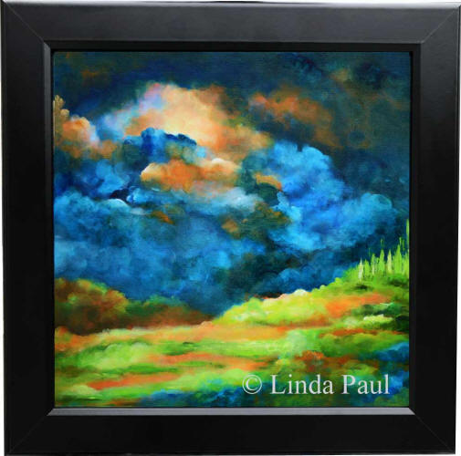 Inspirational Wall Art Framed Landscape Painting Of