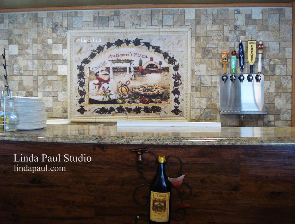Wall art for restaurants and hotels original artwork and for Kitchen paintings pictures