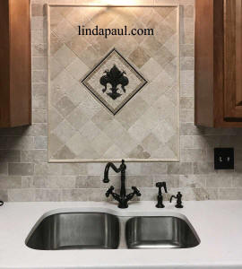 after picture fleur de is backsplash