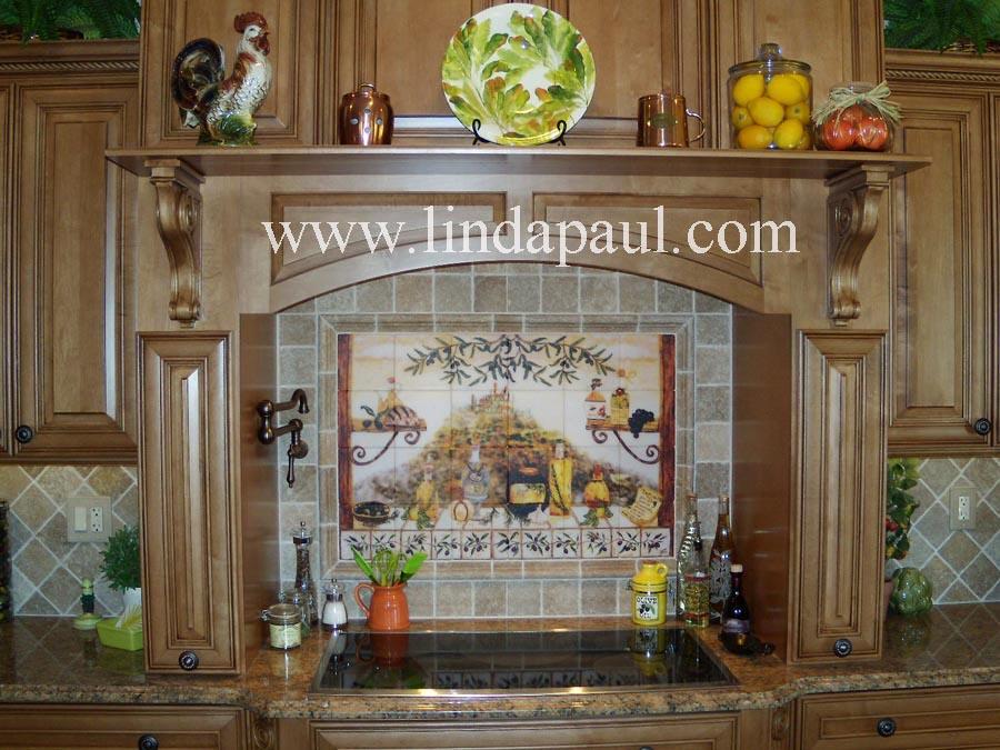 Italian Tile Backsplash Kitchen Tiles Murals Ideas