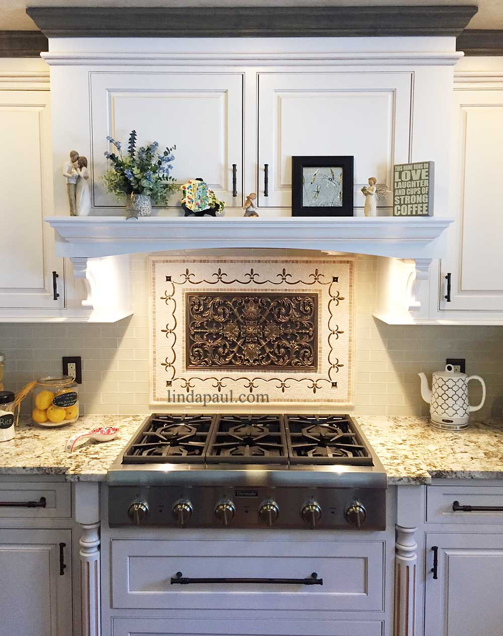 tile medallions for kitchen backsplash kitchen backsplash plaques ravenna decorative tile medallion 6575